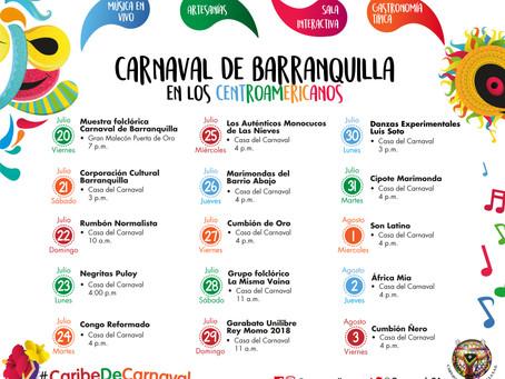 El carnaval de Barranquilla se une a los Juegos Centroamericanos y del Caribe