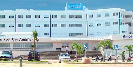 Primeros medicamentos llegan al Hospital de San Andrés