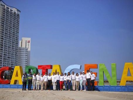 En Cartagena buscan artistas que intervengan letras gigantes
