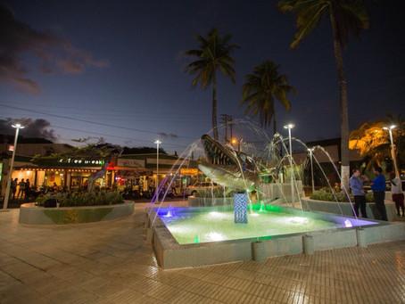 Remodelan tradicional parque La Barracuda en San Andrés