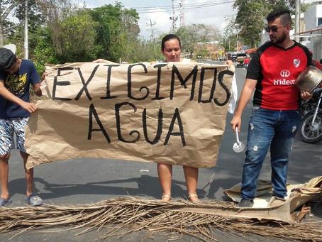 Habitantes de Turbaco realizan tercera protesta por falta de agua potable