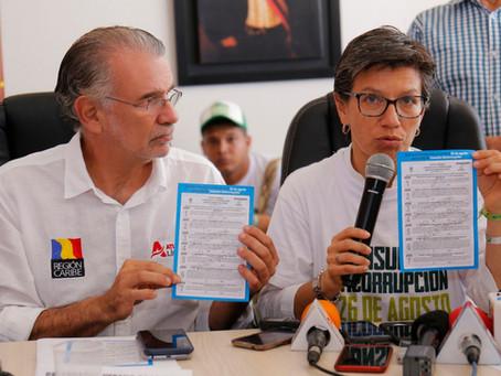 Gobernador Verano respalda la Consulta Anticorrupción