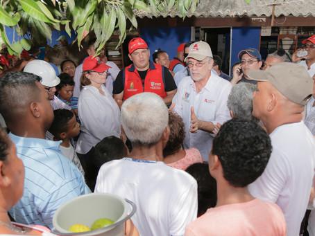 Más de 300 casas afectadas en Soledad por desbordamiento de arroyo