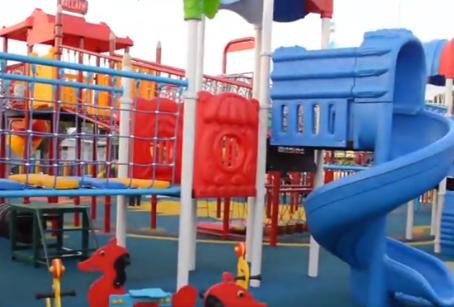 Se inauguraron 3.000 metros cuadrados de pura diversión en Fundación