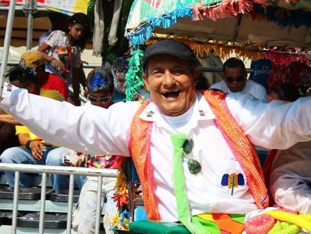 """Falleció el papá de las Marimondas, Cesar """"Paragüita"""" Morales."""