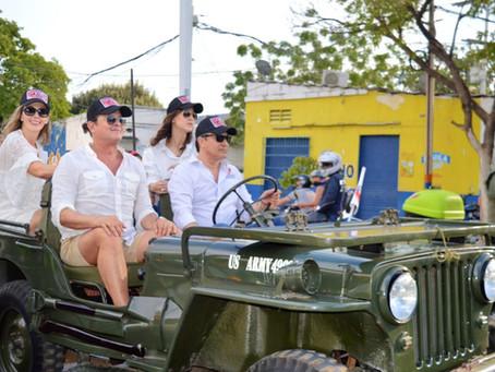 Los Willys Parranderos se toman a Valledupar