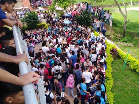 A pesar de Asamblea Permanente, varios estudiantes de UniSucre retornaron a clases