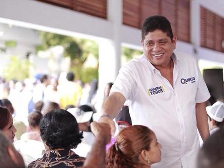 Quinto Guerra sigue en función como Alcalde de Cartagena