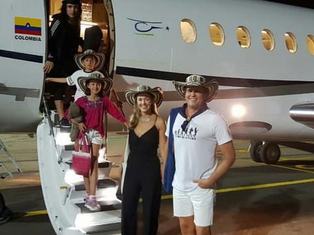 Carlos Vives ya está en Valledupar para disfrutar del Festival Vallenato