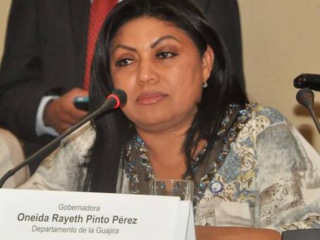 Exgobernadora de La Guajira, Oneida Pinto, quedó en libertad