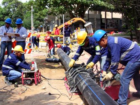 Por tres horas, 100 barrios quedaron sin servicio de agua en Barranquilla