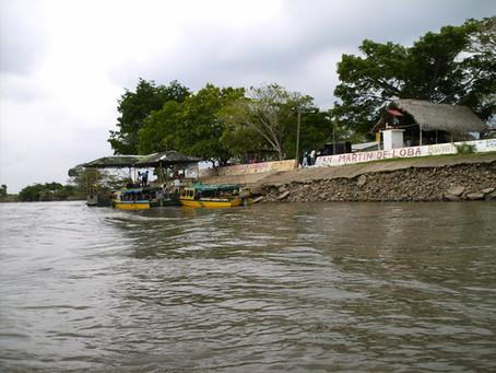 Calamidad pública por ingreso del río Magdalena a Barranco de Loba, Bolívar