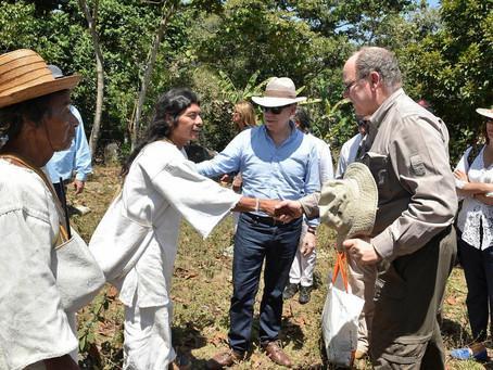 """""""En la Sierra Nevada no habrá ningún tipo de minería"""": Presidente Santos"""