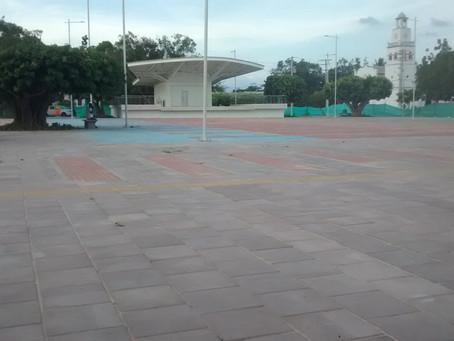 Denuncian que Plaza Principal de Fonseca, La Guajira estaría siendo objeto de vandalismo