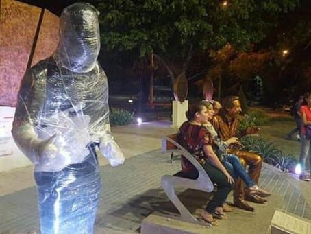 Escultura de Martín Elías estará al lado de Diomedes Díaz en Valledupar