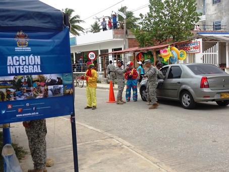 Armada Nacional garantiza seguridad en Sucre y Bolívar en Semana Santa