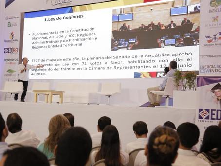 Las 10 propuestas del Gobernador del Atlántico a candidatos en el IX Foro del Caribe Colombiano