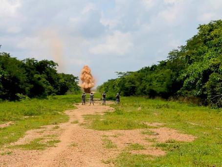Destruyen pista utilizada por el narcotráfico en Pivijay