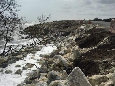Habrá reunión con el Gobierno por la erosión en el kilómetro 19