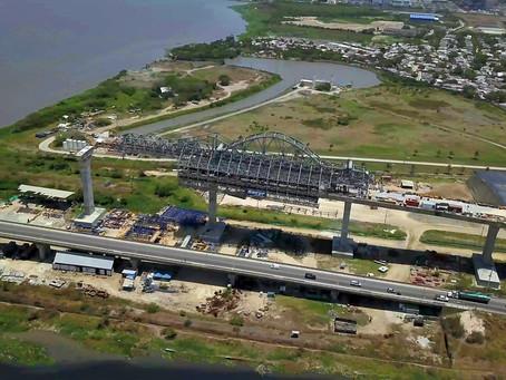 Procuraduría General vigilará las obras restantes del nuevo puente Pumarejo