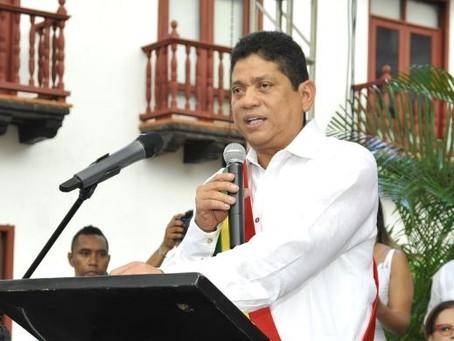 Quinto Guerra seguirá gobernando en Cartagena hasta el 6 de junio