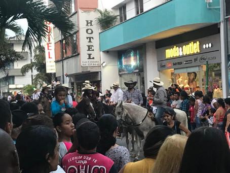 Cabalgatas en Cartagena serían reglamentadas
