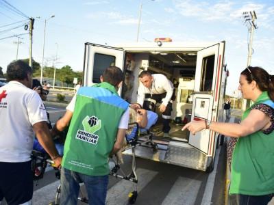 Mujer embarazada y su bebé fueron puestos a salvo durante Operación Guajira del ICBF