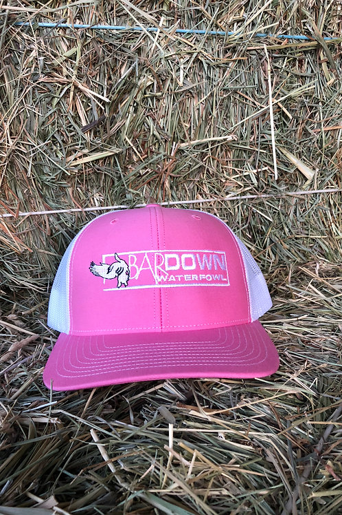 Pink and white SnapBack (R)