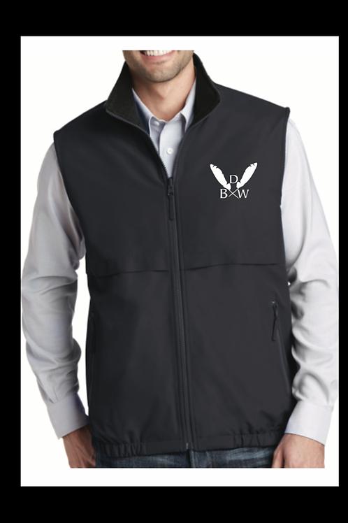 Dark Grey Embroidered Vest
