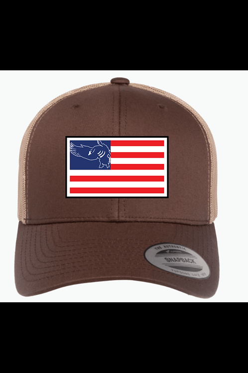 America Flag Patch Hat (Yupoong)