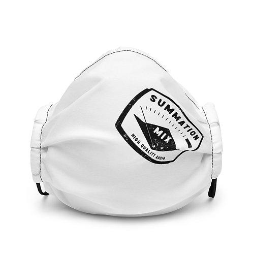 Branded Premium face mask (White)