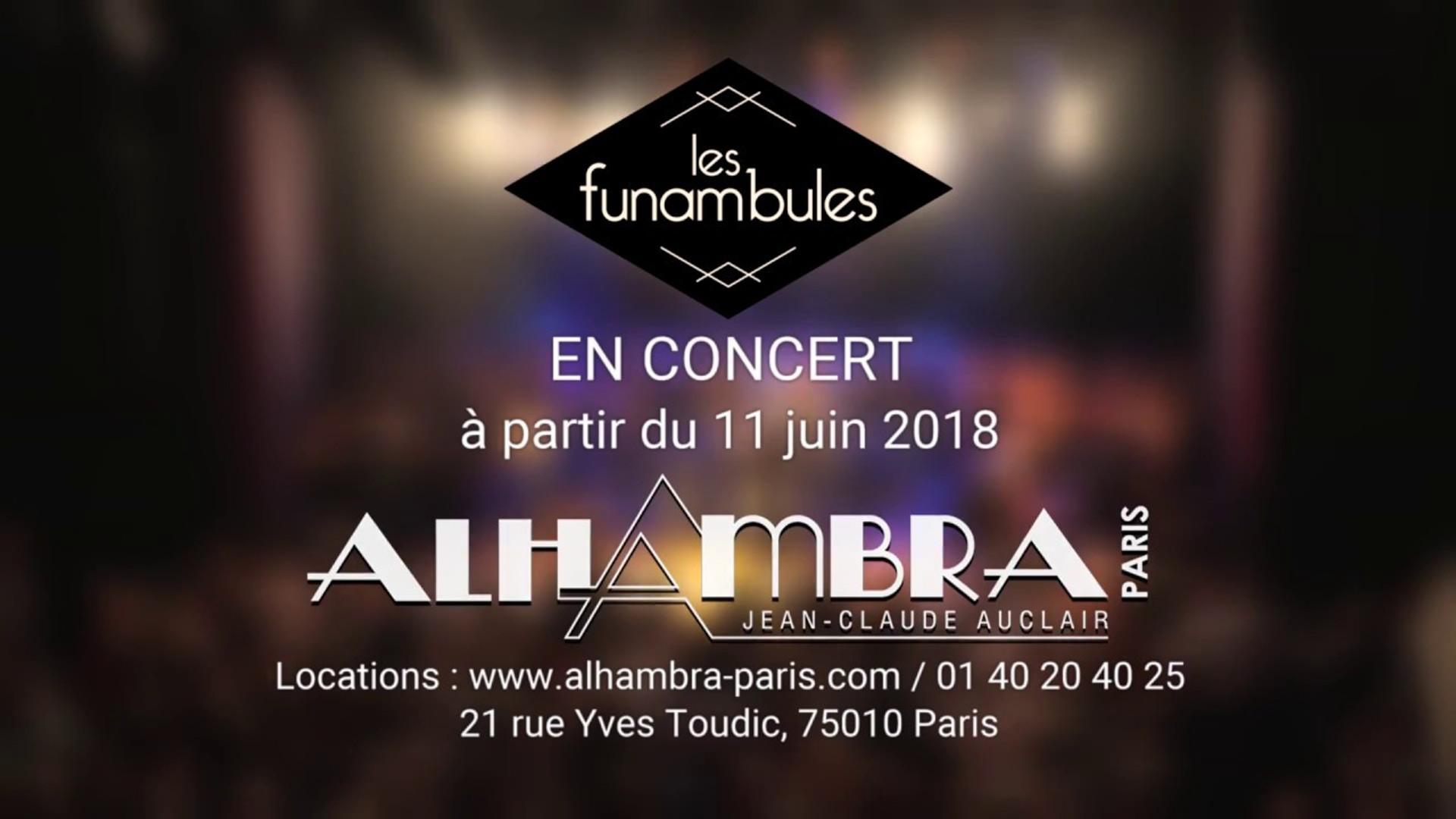 LES FUNAMBULES - Alhambra 2018
