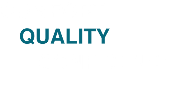 words: comfort, quality, confidence