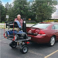 Chariot Scooter/Wheelchair Lift