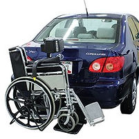 Bruno Back-Saver Wheelchair Lift