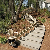 Bruno Elite Custom Outdoor Stairlift