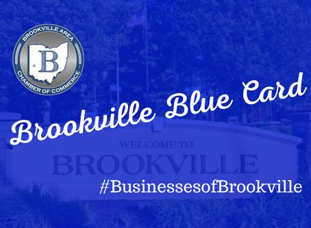 Brookville Blue Card