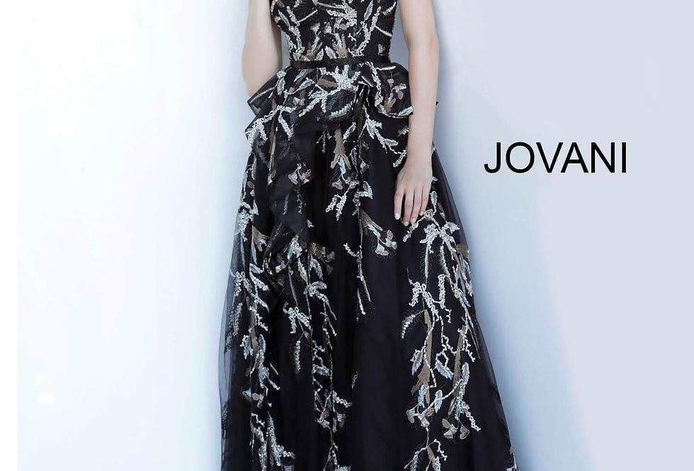 Jovani Long A Line Dress 2040
