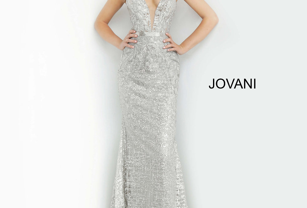 Jovani Fitted Sweetheart Dress 62517