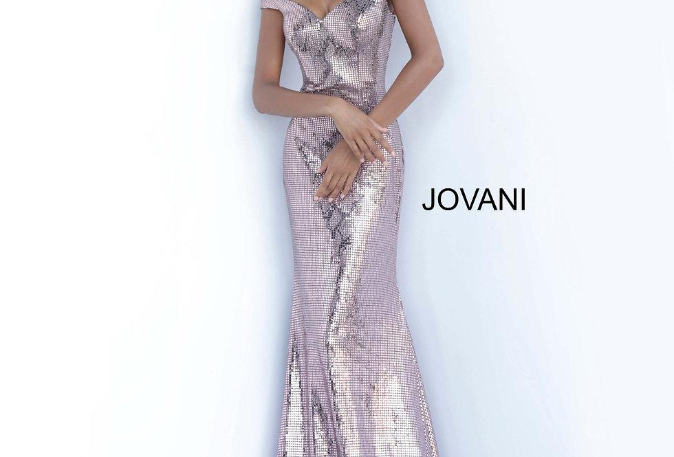 Jovani Long Sequence Dress 00690