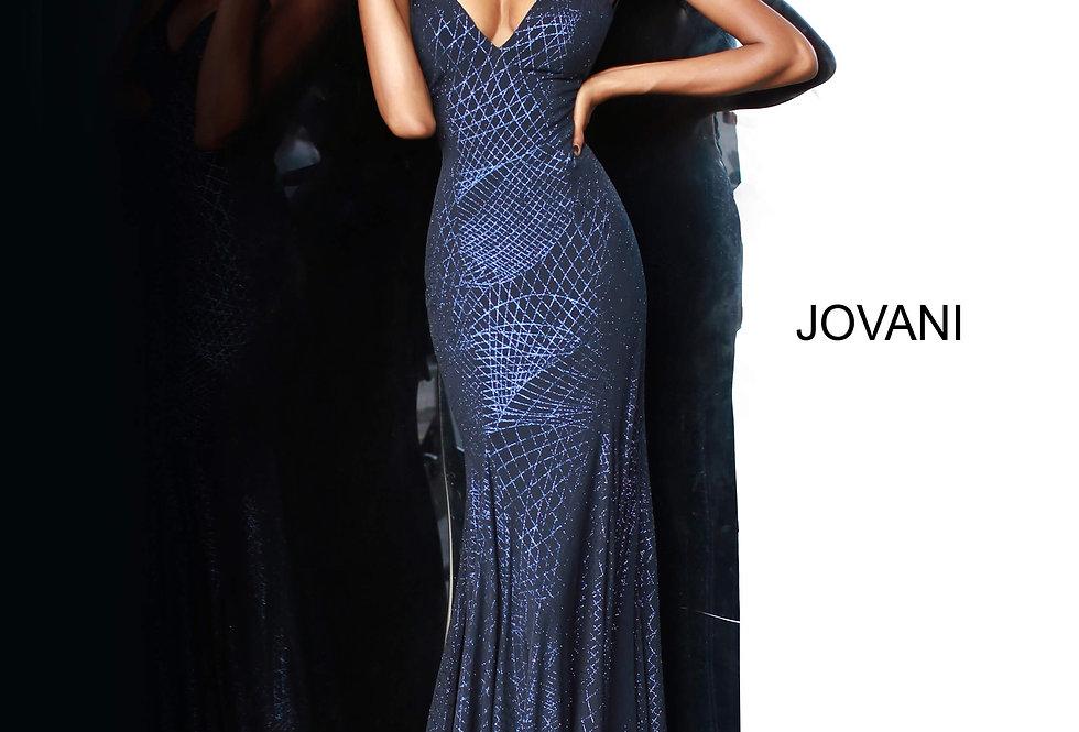 Jovani Fitted Glittery Dress 1120