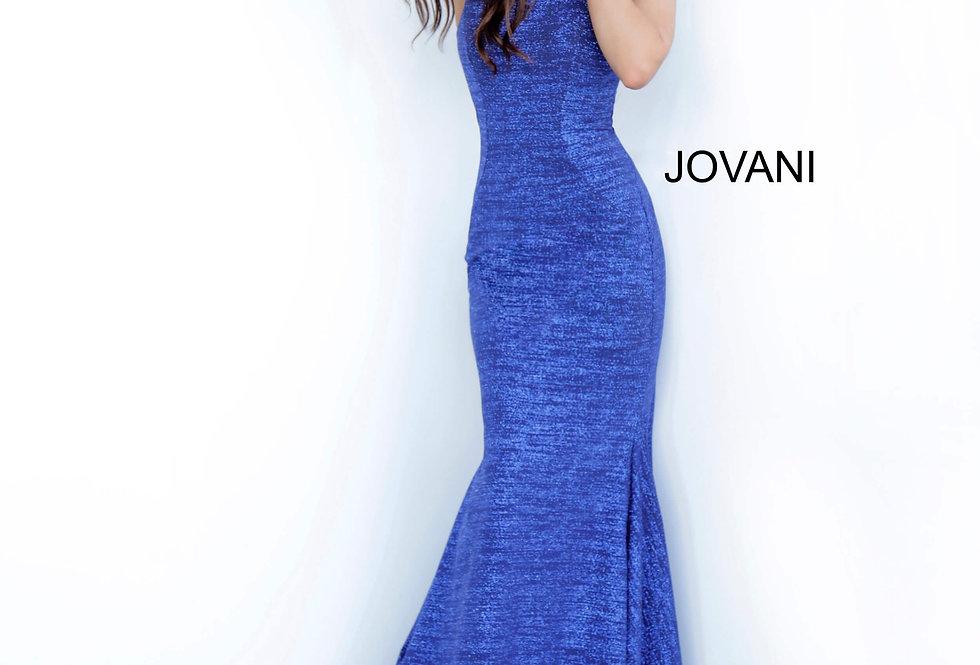 Jovani Long Shimmer Dress 1354
