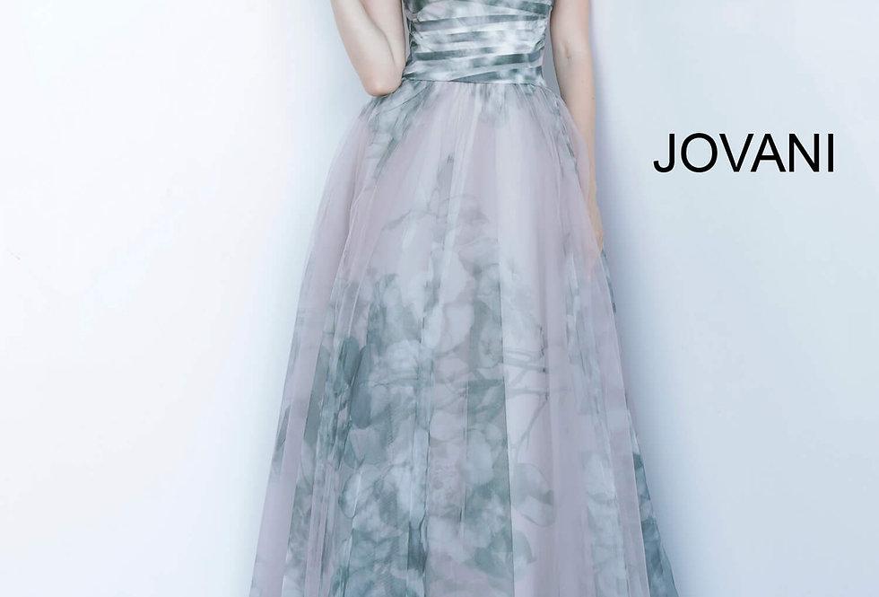 Jovani Long A Line Dress 4434