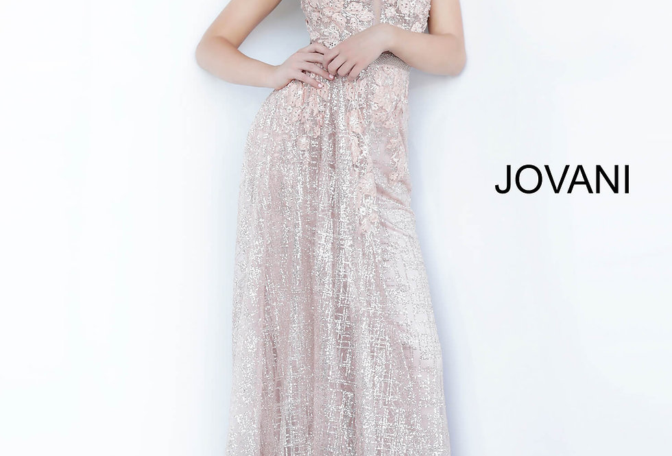 Jovani Long Fitted Dress 1658
