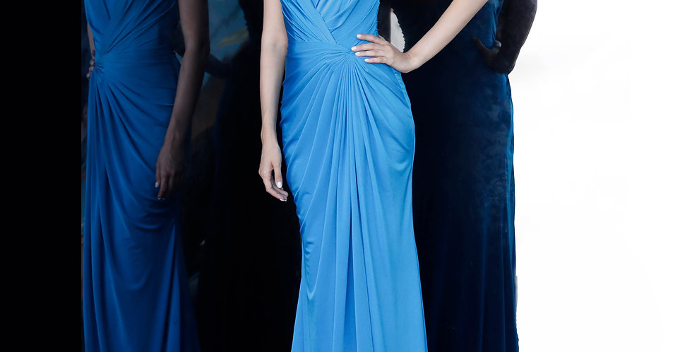 Jovani Long Strapless Dress 67845