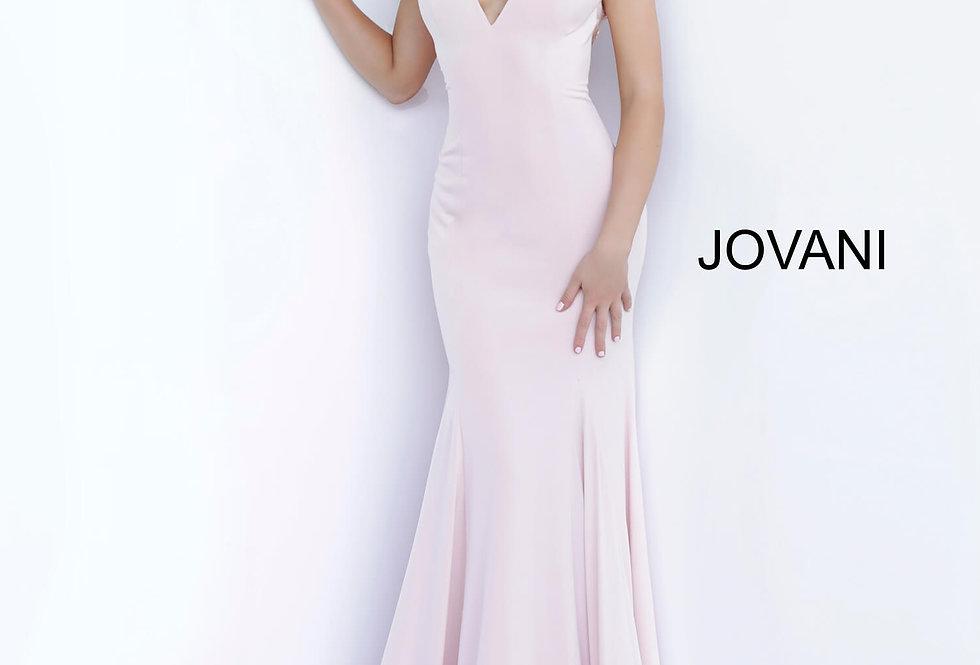 Jovani Long Blush Dress 1074