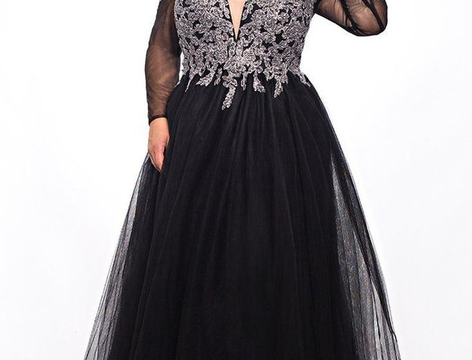 Lace Illusions Formal Dress SC7299