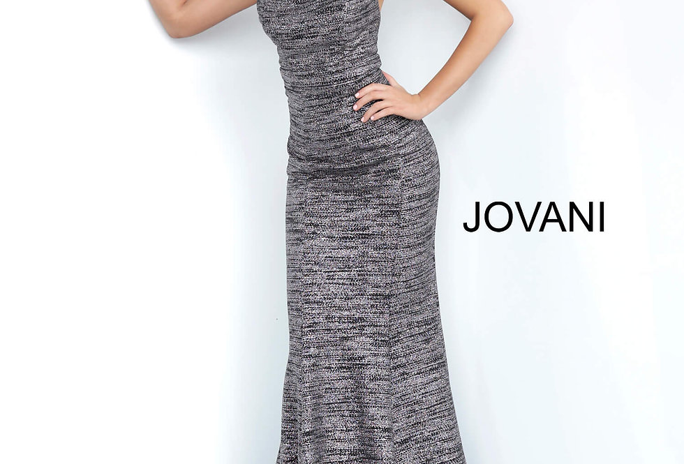 Jovani Glitter Long Dress 1846