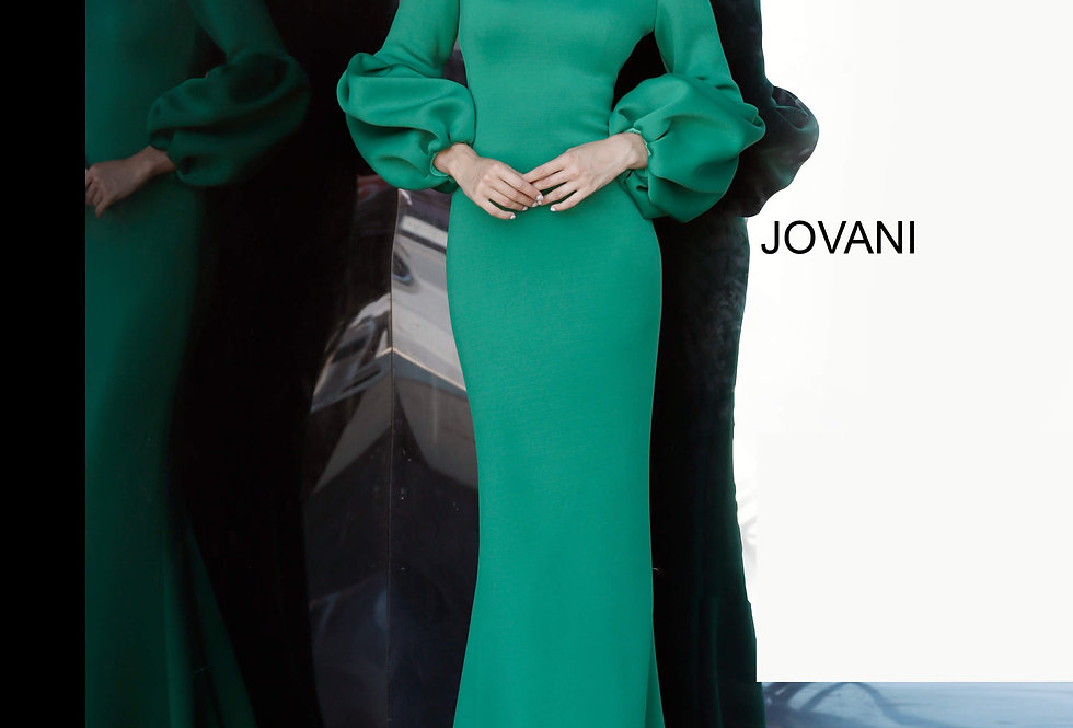 Jovani Long Fitted Dress 61669