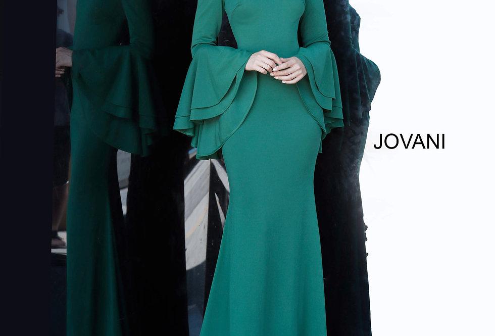 Jovani Off The Shoulder Fitted Dress 3029